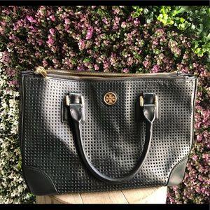 Like New-  Original Tory Burch Large Black Bag